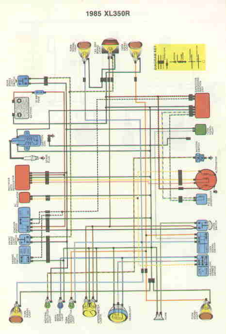 85XL350 wiring diagrams honda trx200 wiring diagram at edmiracle.co